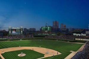 Night View of the Proposed Video Board Photo: http://www.chicagonow.com/cubs-den/2013/05/the-wrigley-renovation-press-conference/#image/4 via Chicago Cubs